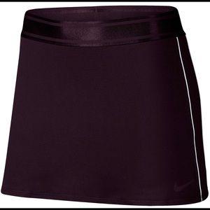 Black Dry-Fit Tennis Skirt